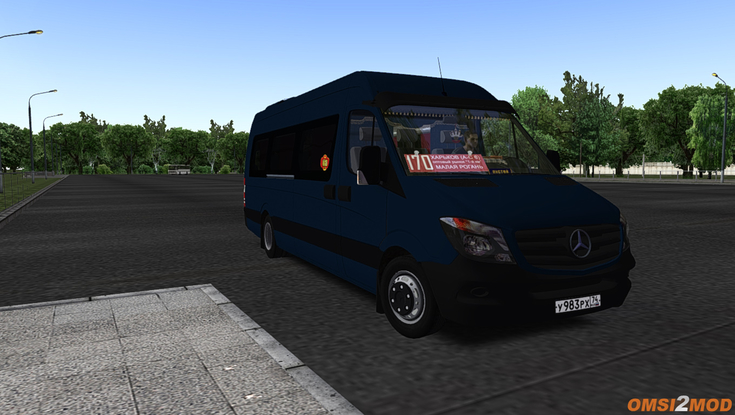 Колхоз на Mercedes Benz Sprinter