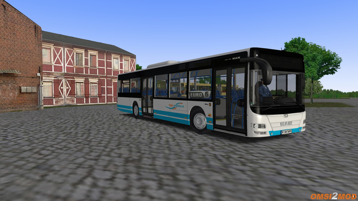 "Перекраска ""Regio - Express"" для MAN Lion's City A21"