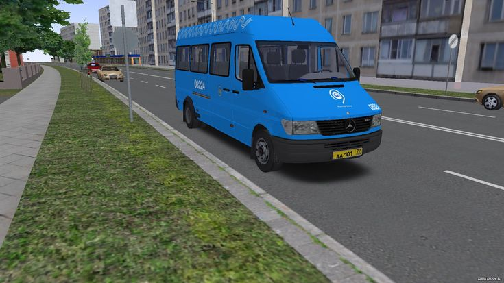 Московская перекраска Автолайн для Mercedes Benz Sprinter (312D-412D)