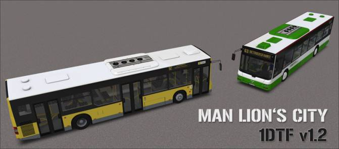 MAN Lion`s city DTF 1.2